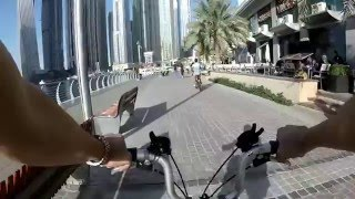 Cycling at Dubai Marina part 3