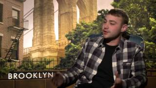 Video BROOKLYN: Emory Cohen Talks Growing Up In New York City download MP3, 3GP, MP4, WEBM, AVI, FLV Januari 2018
