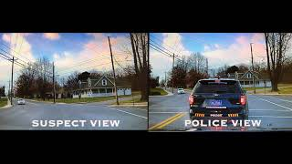 Video of Shippensburg police car being stolen