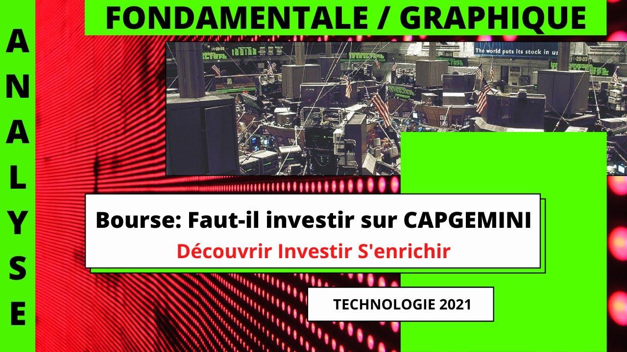 Bourse: Faut-il investir sur CAPGEMINI