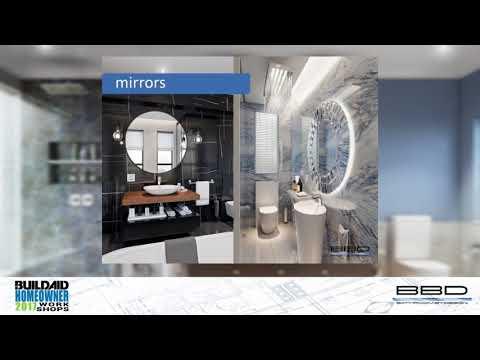 2017 Buildaid Homeowner Workshop 5 - Heather Darby - Bathroom By Design - 19 Aug