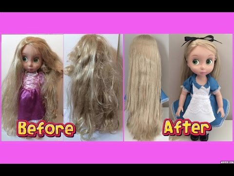 how-to-fix-doll-hair---restore-tangled,-frizzy,-messy-doll-hair