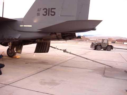 F-15E double burner run