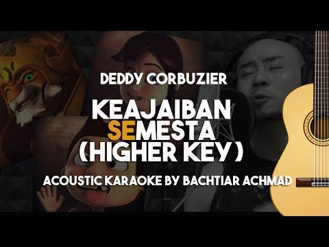 [HIGHER KEY] Keajaiban Semesta (Knight Kris) Karaoke Gitar T