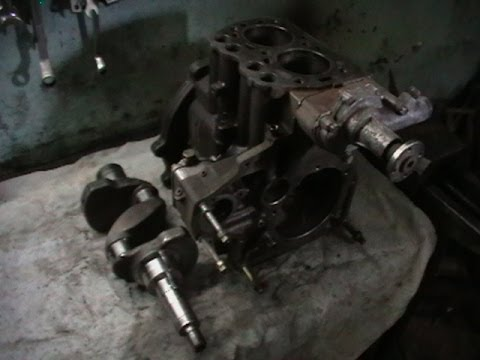 Tractor MTZ 82 engine Repair a Busted crankshaft - YouTube