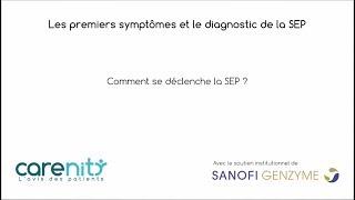 Sclérose en plaques : Premiers symptômes et diagnostic