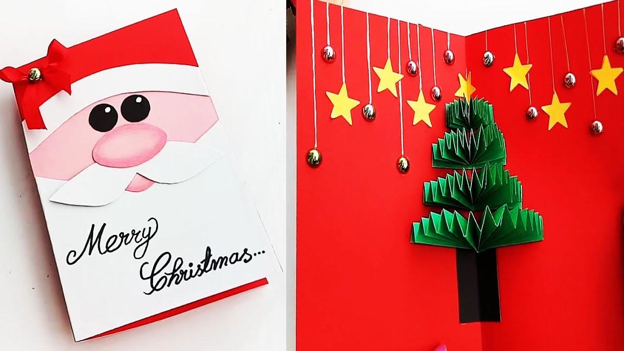 Diy Christmas Pop Up Cards Handmade Christmas Greeting Cards