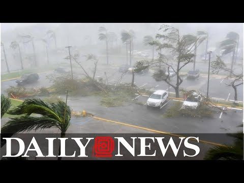 Hurricane Maria leaves all of Puerto Rico without power after killing at least 7 in Dominica