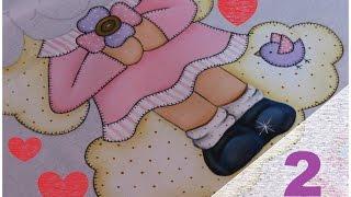 Pintura em tecido – Pintando Sapatinhos! Bia Parte 2 – Artes Mariana Santos