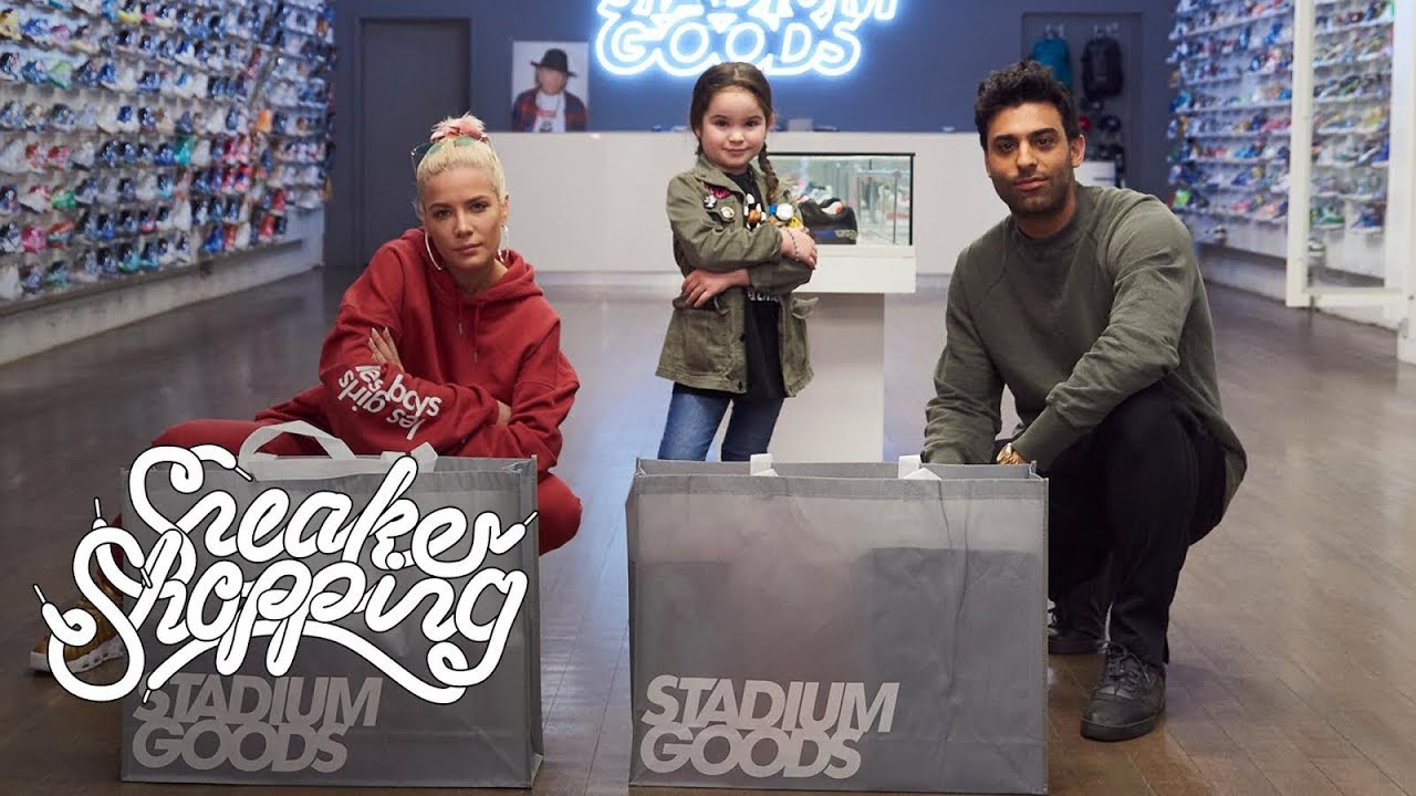 22a6bdaad979 Luna Stracci Goes Sneaker Shopping With Halsey and Complex - YouTube