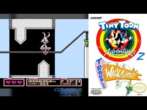 Tiny Toon Adventures 2: Trouble in Wackyland (NES / Dendy) - прохождение игры