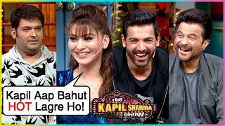 Urvashi Rautela FUNNY Flirting With Kapil, Arshad, Anil, John   The Kapil Sharma Show Pagalpanti