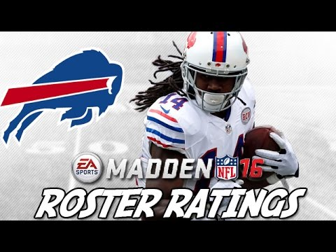 Early Madden 16 Ratings | Buffalo Bills ft. LeSean McCoy + Sammy Watkins