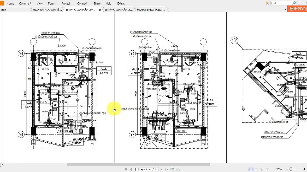 Cách đọc bản vẽ cơ điện bài 3 – Codien.cachdocbanve.com