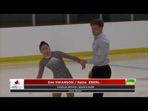 2018 Skate Canada Challenge – Emi Swanson & Raine Eberl - Novice PAIRS Free Program
