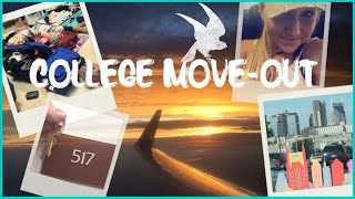 ♫ College MOVE-OUT Vlog ♪ | Broadway, Zoo, Packing, etc...