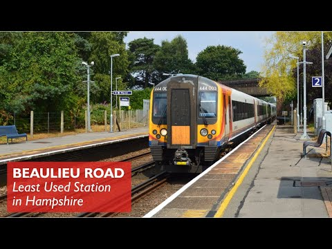 Beaulieu Road - Least Used Station in Hampshire