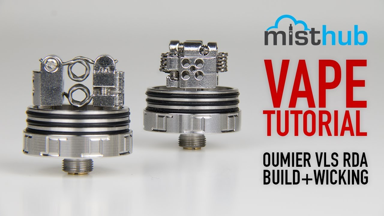 The Oumier VLS RDA Quick Build+Wicking Tutorial