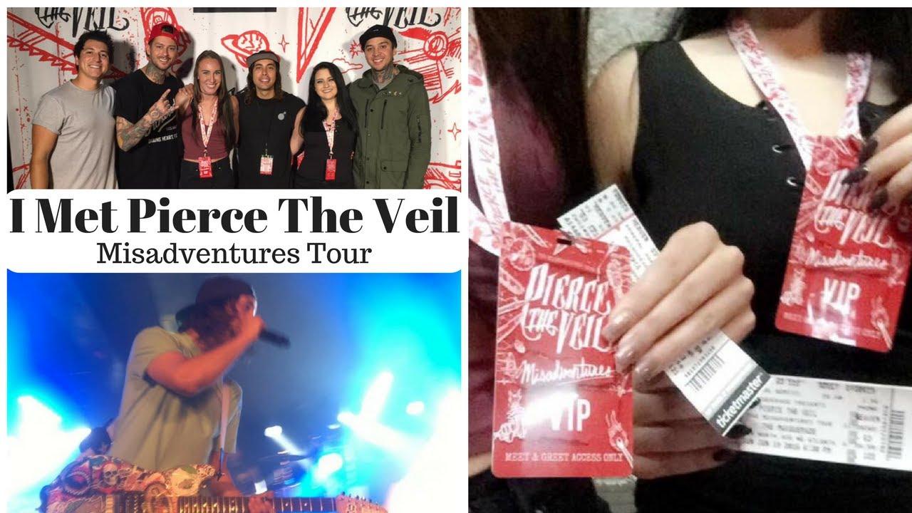 Meeting Pierce The Veil Misadventures Tour Youtube