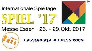 Recensioni Minute #Spiel17 [004] - Passeggiata Press Room (Essen 2017)