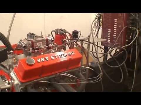 383 Stroker Engine 490Hp ProMaxx 200 cylinder heads