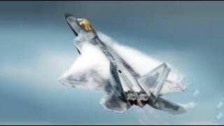 Awesome F-22 Raptor Extremely Powerful Shows Its Crazy Ability /freefall from sky in full control