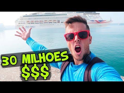 ISTO VALE 30.000.000$ !!! BARCO GIGANTE !!