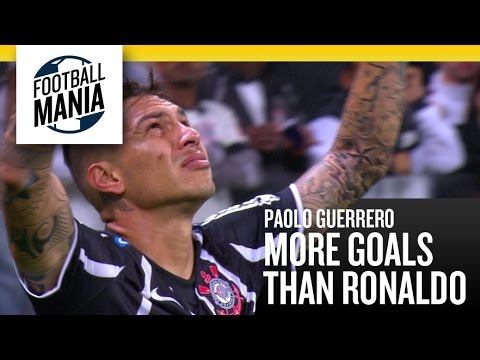 Paolo Guerrero - More goals than Ronaldo in Corinthians!