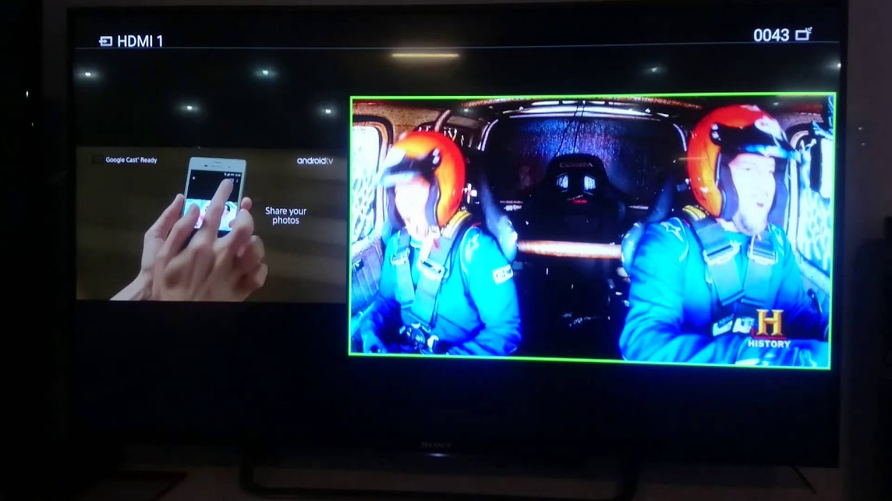 Working HDD Rec and PIP/PAP on Sony Android tv 2015