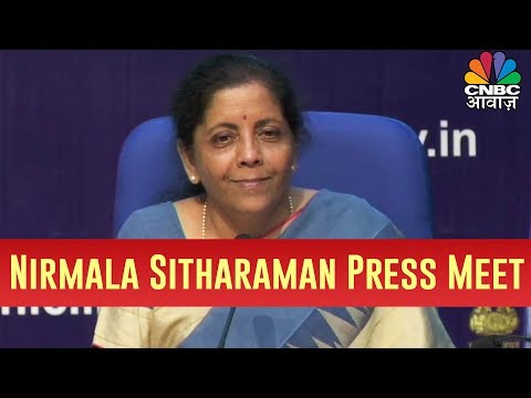 Finance Minister Nirmala Sitharaman's Press Conference On The Country's Economy