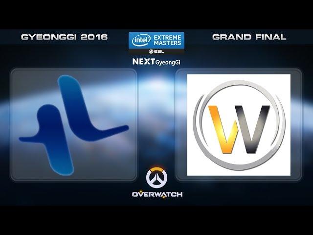 Overwatch - Lunatic-Hai vs. LW Red [Set 4] - Grand Final - IEM Gyeonggi Inviational 2016