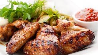 КУРИНЫЕ КРЫЛЫШКИ с ЛИМОНОМ и РОЗМАРИНОМ за 20 минут. Рецепт вкусных и ароматных жареных крылышек