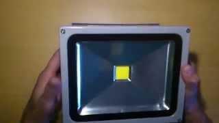 видео наружное освещение led