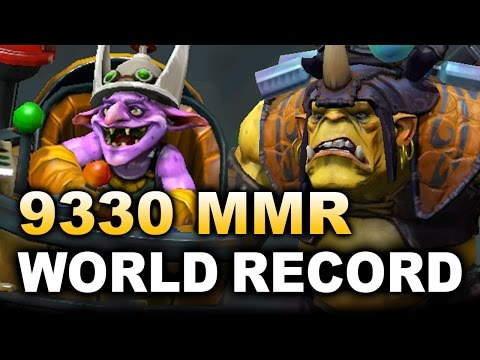 Miracle- 9330 MMR -* NEW World RECORD * - Road to 10k Dota 2