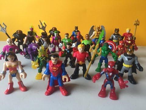 Imaginext DC Super Friends Serie 2 Aquaman Superman Linterna Verde | Kidsplace Town