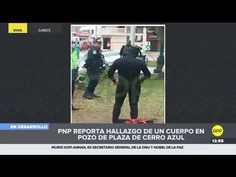 Este era el estado de los pozos en la Plaza de Armas de Cerro Azul 2/2