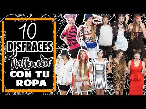 Disfraces Fáciles Para Halloween | Last Minute Easy Halloween Costumes Ideas│Magic Armarium
