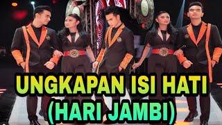 Ungkapan (hati) HARI JAMBI setelah tampil TADI MALAM    dan lolos ke GRAND FINAL