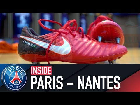 INSIDE - PARIS VS FC NANTES with Edinson Cavani, Javier Pastore