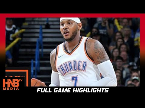 Oklahoma City Thunder vs Minnesota Timberwolves 1st Half Highlights / Week 2 / 2017 NBA Season