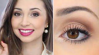 Maquiagem especial para o Trabalho - Jana Taffarel