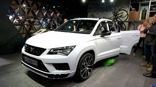 CUPRA ATECA SEAT SUV 4DRIVE NEW MODEL 2018 GREY + WHITE COLOUR WALKAROUND + INTERIOR