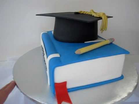 How To Make An Edible Graduation Cap For A Cake