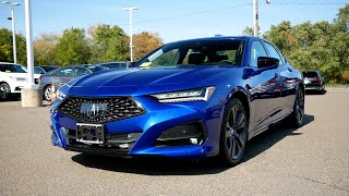 2021 Acura TLX A-Spec Review - Start Up, Revs, Walk Around, and Test Drive