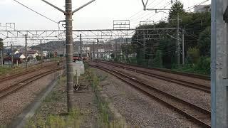 東急3000系中間車甲種 府中本町駅通過
