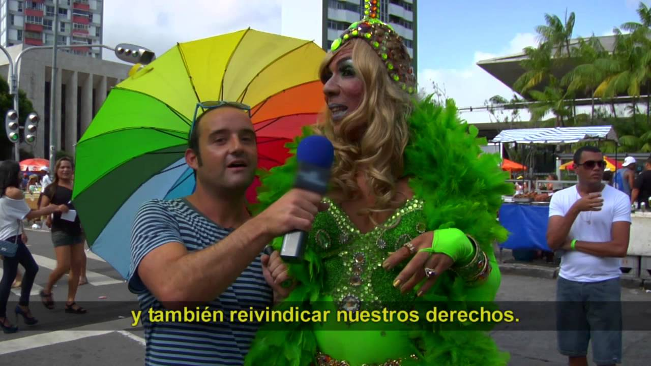 Fiestaca del Orgullo Gay en Brasil - YouTube