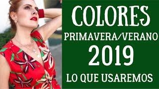 LOS 10 COLORES DE MODA PRIMAVERA-VERANO 2019 QUE DEBES USAR