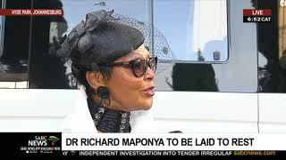 Maponya Funeral | Felicia Mabuza-Suttle remembering Dr Richard Maponya