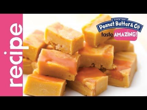 Peanut Butter & Jelly Fudge recipe - YouTube