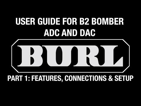 B2 Bomber Video Manual - Part 1: Features, Connections and Setup